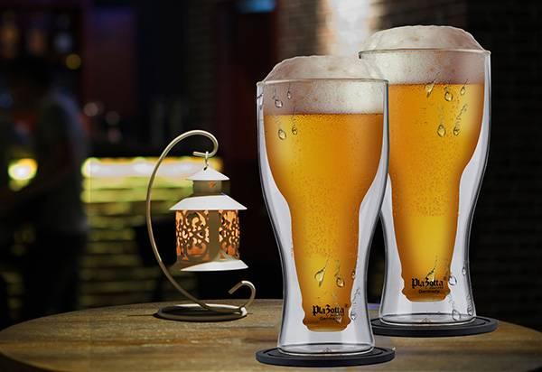 doppelwandige-bierglaeser-bar-party